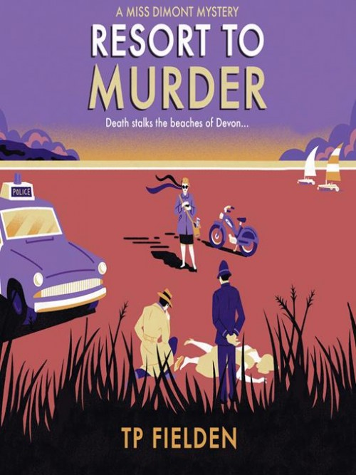A Miss Dimont Mystery 2: Resort To Murder Cover