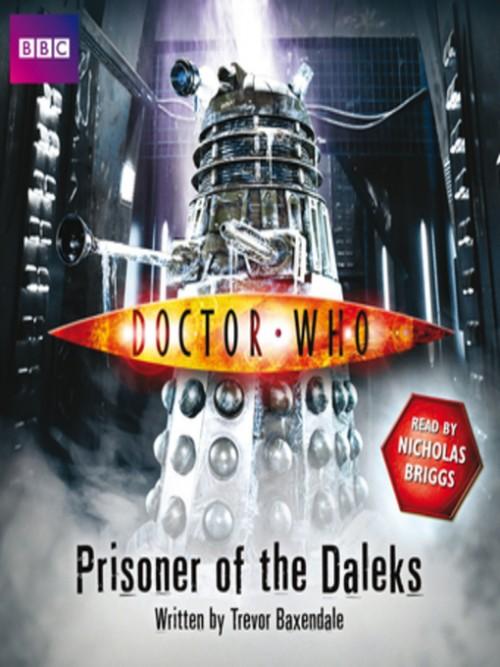 Doctor Who: Prisoner of the Daleks Cover