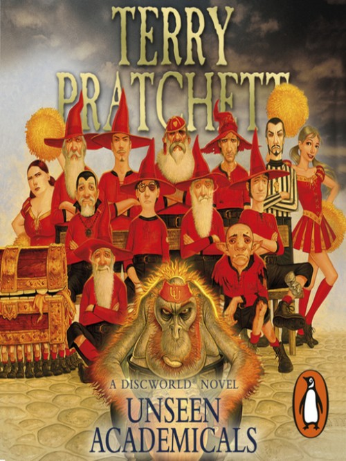 Discworld Series Book 37: Unseen Academicals Cover