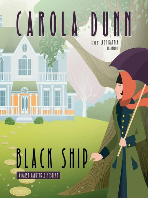 Daisy Dalrymple Book 17: Black Ship Cover