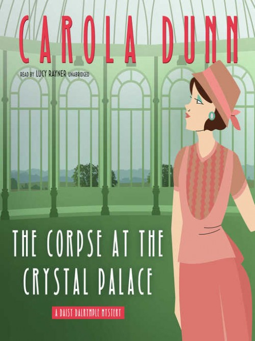 Daisy Dalrymple Book 23: The Corpse At the Crystal Palace Cover