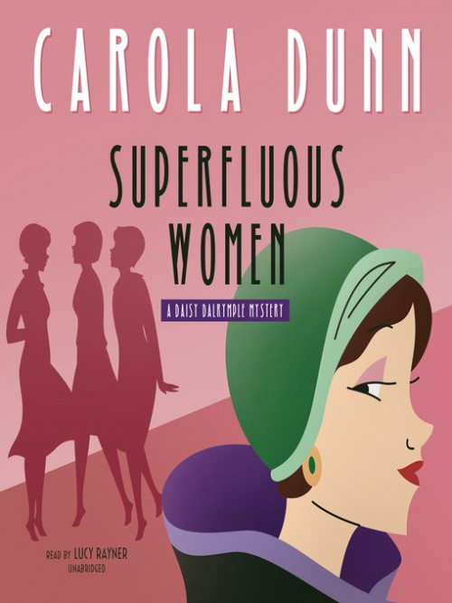 Daisy Dalrymple Book 22: Superfluous Women Cover