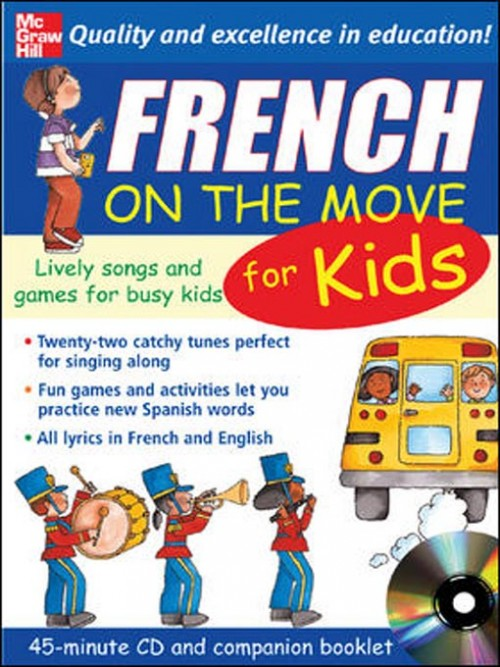 French On the Move For Kids Cover