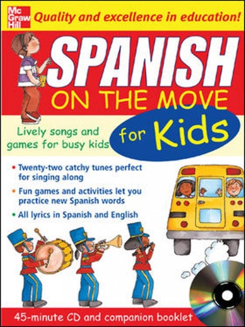 Spanish On the Move For Kids Cover