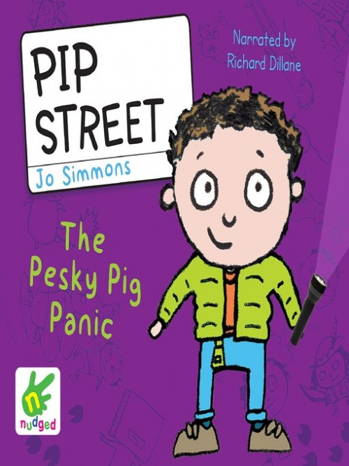 Pip Street Book 3: The Pesky Pig Panic Cover