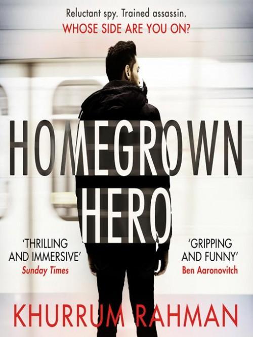 Jay Qasim Book 2: Homegrown Hero Cover