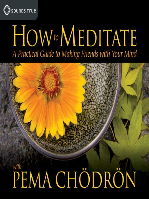 How To Meditate With Pema Chodron Cover