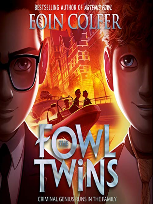 The Fowl Twins Book 1 Cover