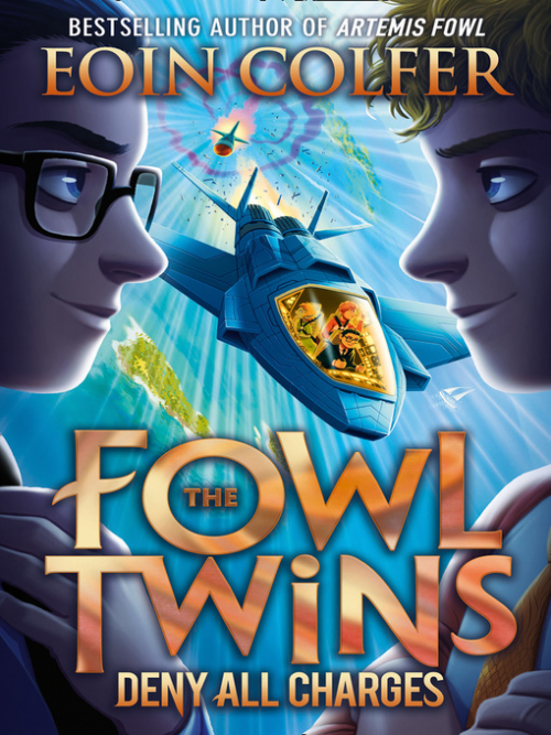 The Fowl Twins Book 2: Deny All Charges Cover