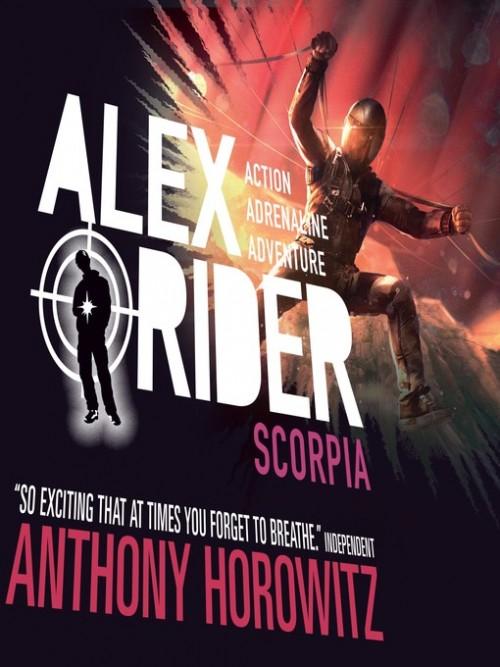 Alex Rider Book 5: Scorpia Cover