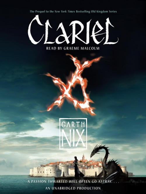 Old Kingdom Trilogy Book 0.5 Clariel Cover