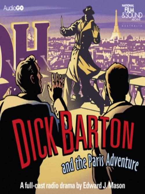 Dick Barton and the Paris Adventure Cover