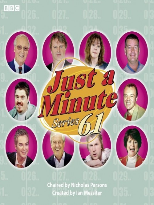 Just A Minute, Series 61: The Complete Series Cover