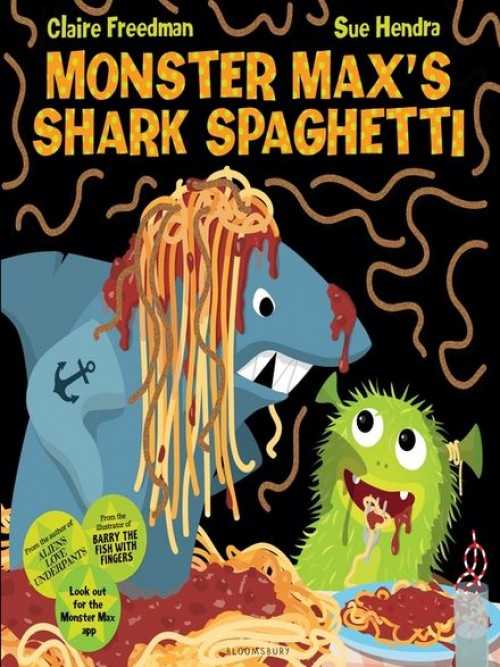 Monster Max's Shark Spaghetti Cover
