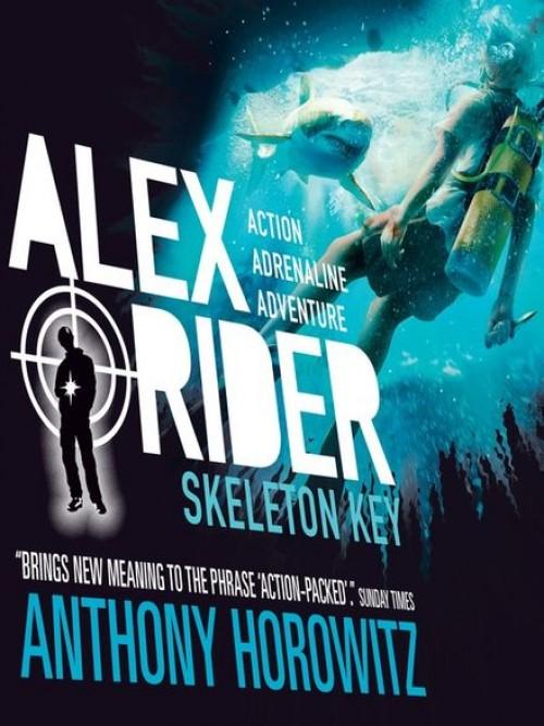 Alex Rider Series Book 3: Skeleton Key Cover