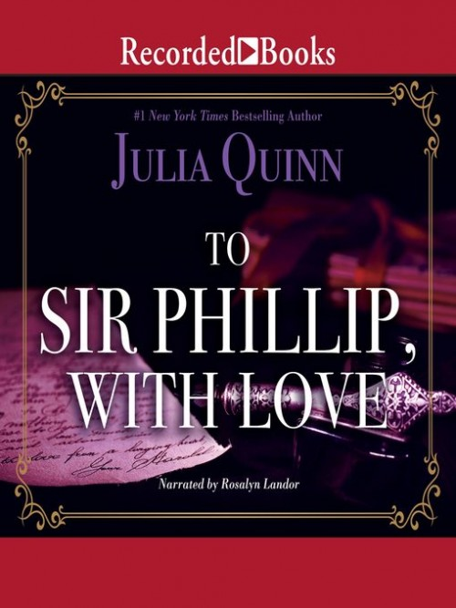 Bridgerton Book 5: To Sir Phillip, With Love Cover