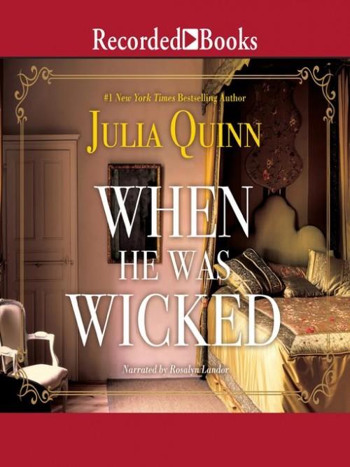 Bridgerton Book 6: When He Was Wicked Cover