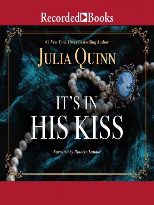 Bridgerton Book 7:  It's in His Kiss Cover