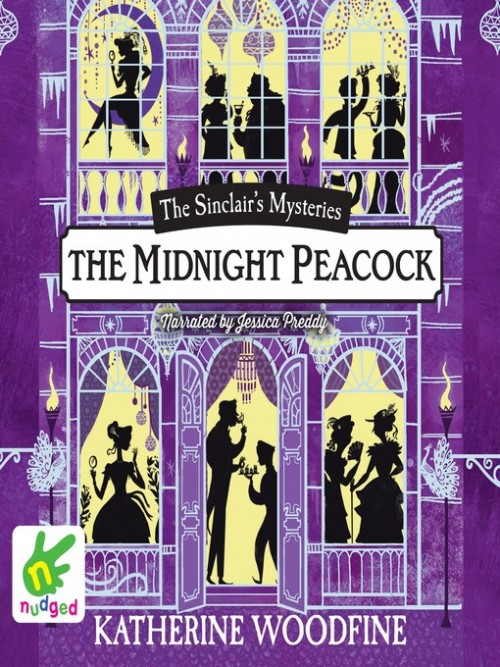 Sinclair Mysteries Book 4: The Midnight Peacock Cover