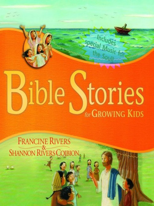 Bible Stories for Growing Kids Cover