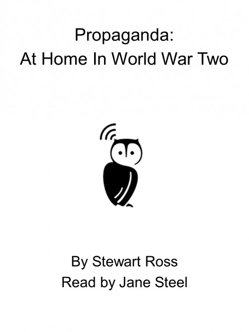 Propaganda: At Home In World War Two Cover