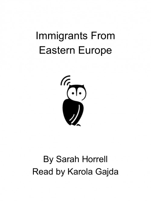 Immigrants From Eastern Europe Cover