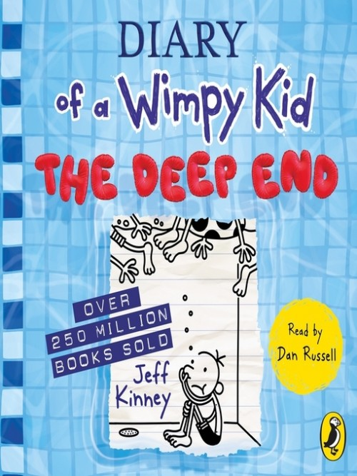 Diary of a Wimpy Kid Book 15: The Deep End Cover