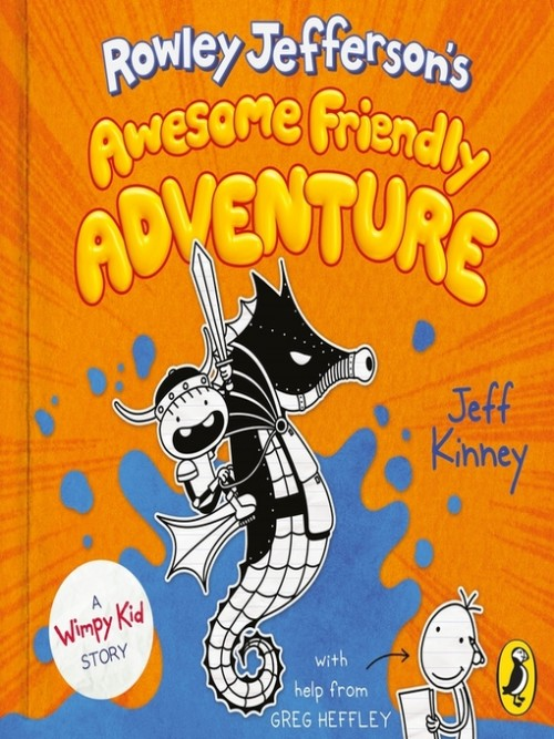 Rowley Jefferson's Awesome Friendly Adventure Cover