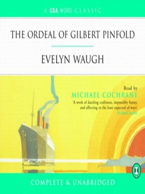 The Ordeal of Gilbert Pinfold Cover