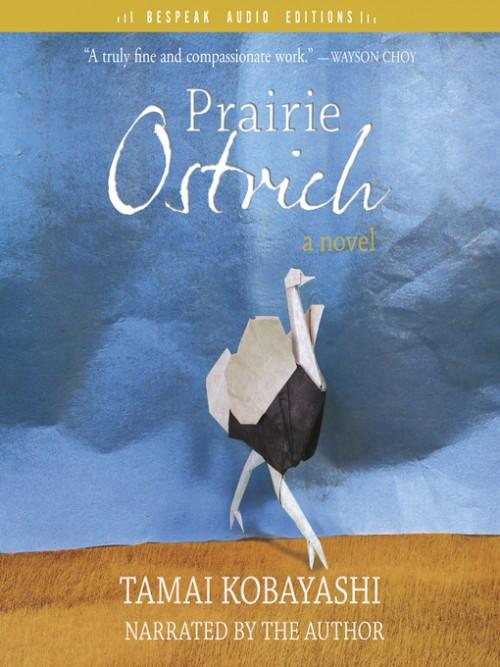 Prairie Ostrich Cover