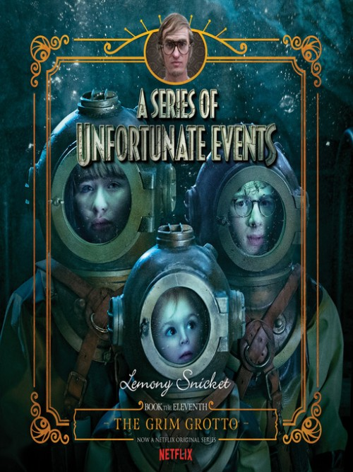 A Series of Unfortunate Events Book 11: The Grim Grotto Cover