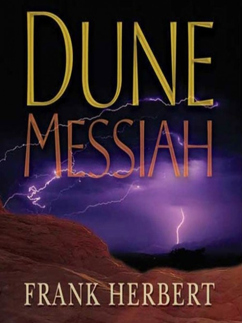 Dune Book 2: Dune Messiah Cover