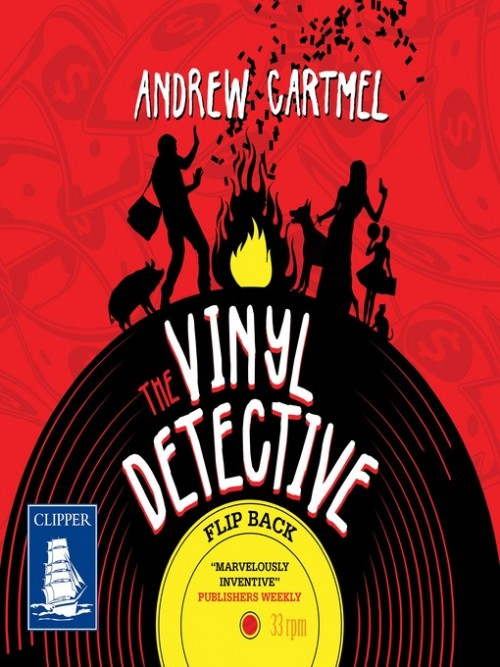 The Vinyl Detective Mysteries Book 4: Flip Back Cover