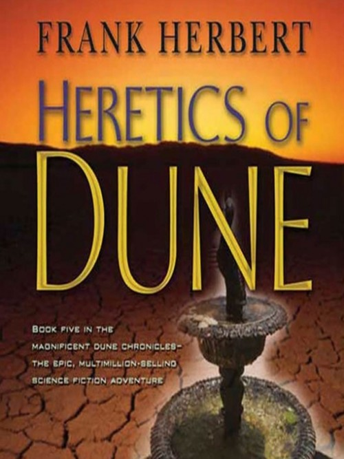 Dune Book 5: Heretics of Dune Cover