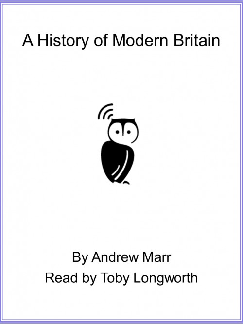 A History of Modern Britain Cover