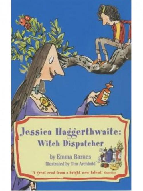 Jessica Haggerthwaite: Witch Dispatcher Cover