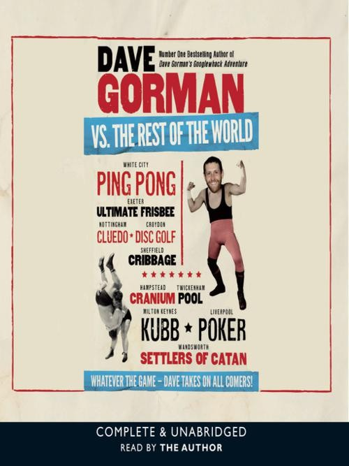 Dave Gorman Vs the Rest of the World Cover