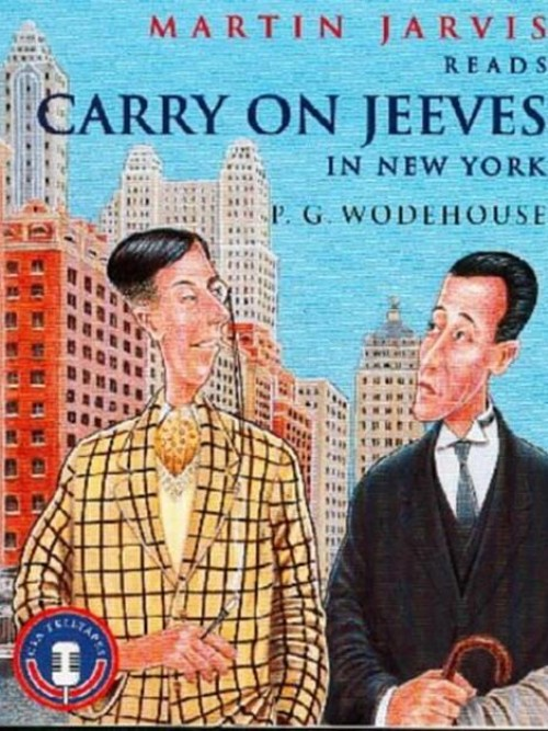 Carry On Jeeves In New York Cover