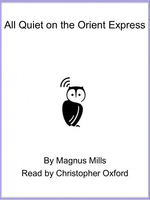 All Quiet On the Orient Express Cover