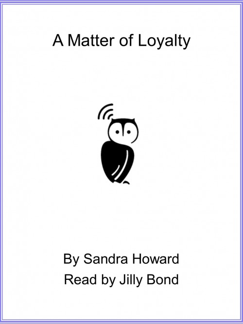 A Matter of Loyalty Cover
