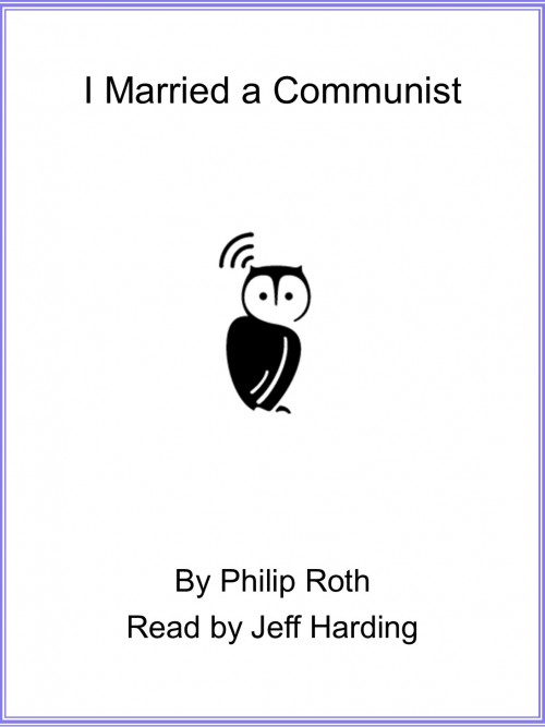 I Married A Communist Cover