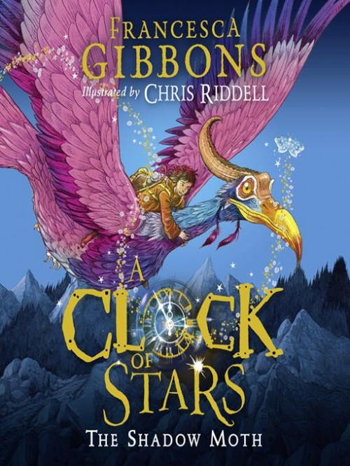 A Clock of Stars: The Shadow Moth Cover