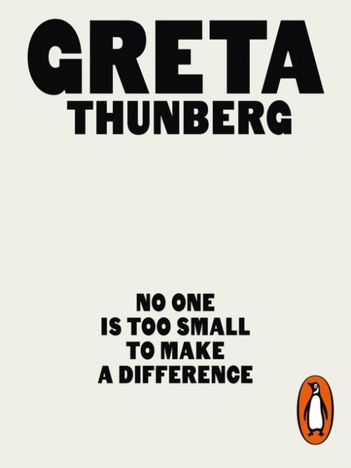 No One Is Too Small To Make A Difference Cover