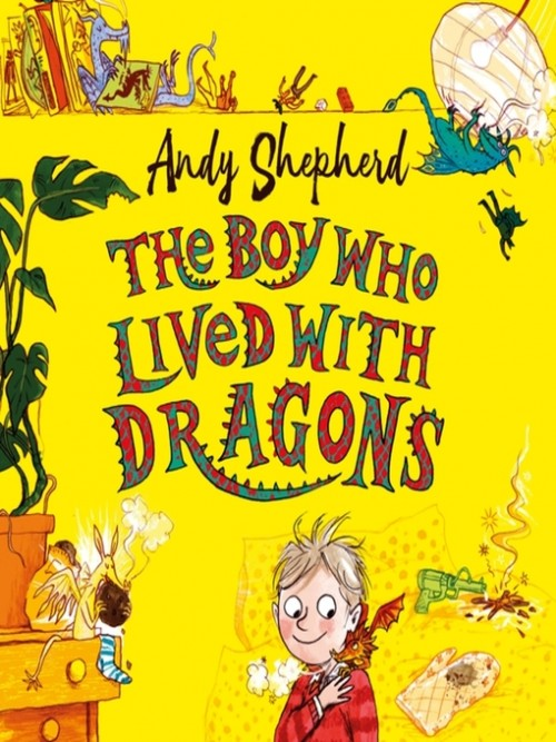 The Boy Who Grew Dragons Book 2: The Boy Who Lived With Dragons Cover