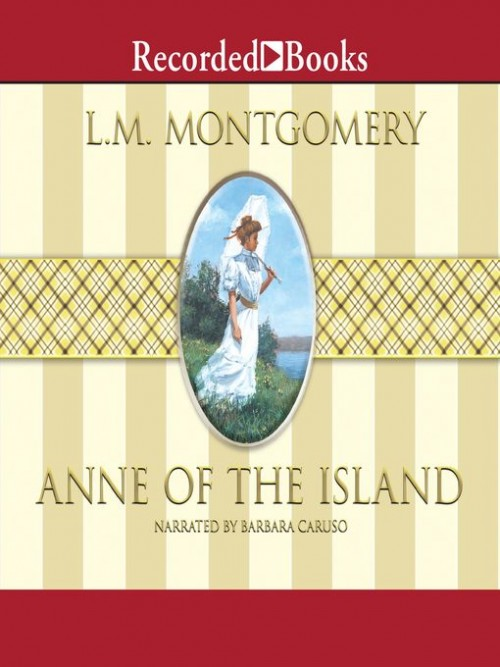 Anne of Green Gables Book 3: Anne of the Island Cover