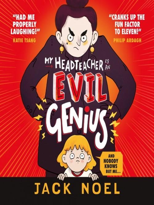 My Headteacher Is an Evil Genius Cover