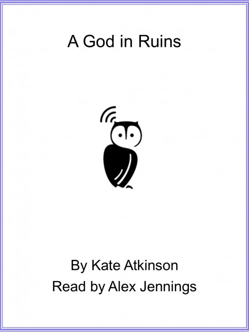 A God In Ruins Cover