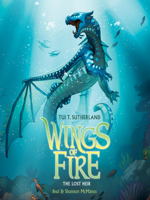 Wings of Fire Book 2: The Lost Heir Cover