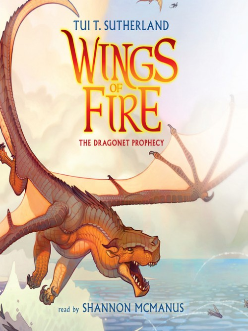 Wings of Fire Book 1: The Dragonet Prophecy Cover