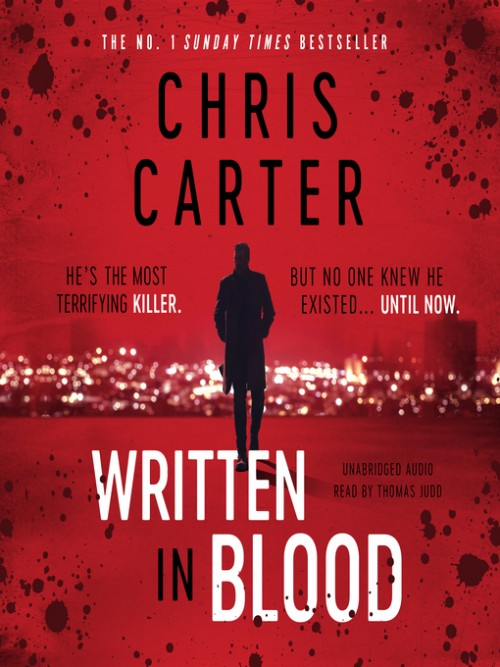 Written in Blood Cover